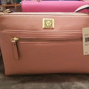Anne Klein Blush Colored Handbag